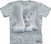 White Tiger Shirt Tie Dye T-shirt Baby Sheltered Adult Tee