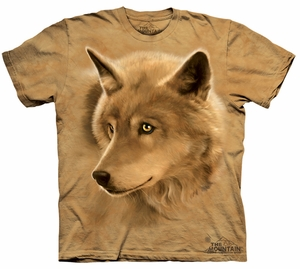 Wolf Kids Shirt Tie Dye Wolves Golden Eyes T-shirt Tee Youth