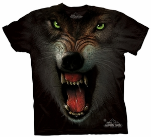 Wolf Kids Shirt Tie Dye Wolves GRRRRRR T-shirt Tee Youth