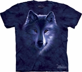 Wolf Shirt Tie Dye Wolves Fade T-shirt Adult Tee
