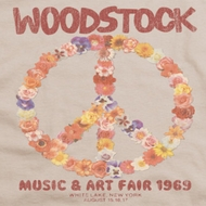 Woodstock Floral Peace Shirts
