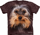 Yorkie Shirt - Yorkshire Terrier Adult Tye Dye T-shirt