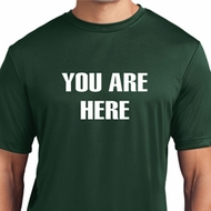 You Are Here Mens Shirts