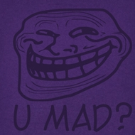 You Mad Juniors Shirt You Mad? Purple Tee T-Shirt