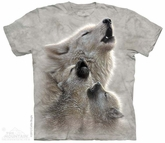 Young Wolf Pack Shirt Tie Dye Adult T-Shirt Tee