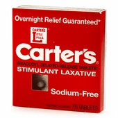 Carter's Laxative Pills - 75 Enteric Coated Pills