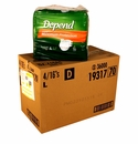 Depend Briefs - Maximum Absorbency - L - 64