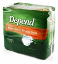 Depends Fitted Briefs - Overnight - Medium - Case of 80