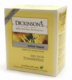 Dickinson's Witch Hazel Towelettes