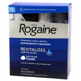 Extra Strength Rogaine Foam - Quad Pack