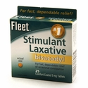 Fleet Stimulant Laxative - 25 Tablets