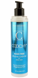 Fragrance Free Coochy Shave- 8 oz Bottle