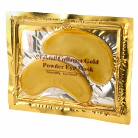 Gold Powder Eye Mask - Your Eyes Have Never Felt So Fancy