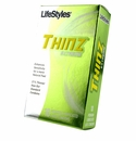Lifestyles Thinz Extreme Condoms - 10 - Thinner Condoms For More Sensations