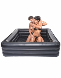 Lube Wrestling Ring - With Ring, Pump & Lube