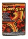 Maxer Size Subliminal Audio CD