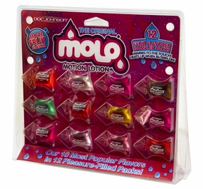 Motion Lotion - Edible Lubricant - Sampler Pack