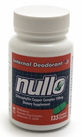 Nullo Internal Deodorant Tablets