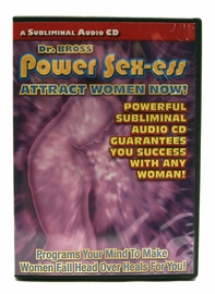 Power Sex-Ess Subliminal Message CD - Helps You Attract Women
