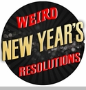 Press Release - Ridiculous New Years Resolutions