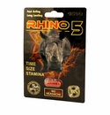 Rhino 5 Penis Pill - Time, Size and Stamina