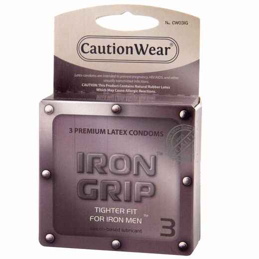 Something is. iron grip condoms