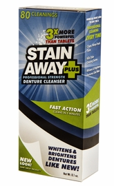 Stain Away Plus Denture Cleaner