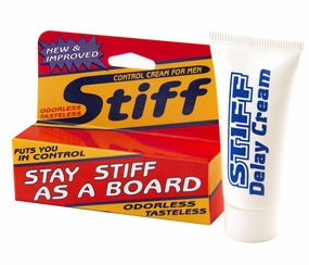 Stiff - Control Cream for Men