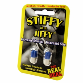 Stiffy In A Jiffy - Our Best Sex Pills For Him