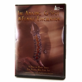 The Amazing G Spot and Female Ejaculation DVD