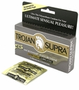 Trojan Supra Non-Latex Condoms - 6 pk