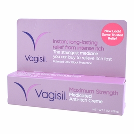 Vagisil Maximum Strength - Stops the Itching 'Down There'