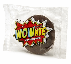 Wownie Relaxation Brownie - Chill Out with Chocolate