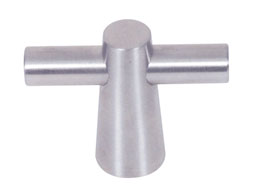 "Liberty Knob - Cone Bar Knob - Stainless Steel 2"" L-PN6496-SS-C"