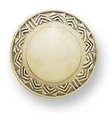 Liberty Knob - Ivory Carved Chevron 42mm L-PN1740-IVR-C