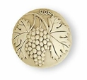 Liberty Knob - Ivory Carved Grape & Leaf 42mm L-PN1745-IVR-C