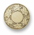 Liberty Knob - Ivory Carved Grape & Leaf 42mm L-PN1755-IVR-C