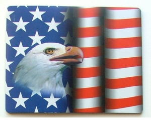 American Eagle-Flag Patriotic Mousepad