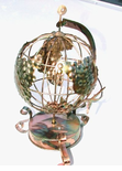 "Aviation Theme Musical Rotating Globe Music Box - on SALE,  ""Those daring young men in their flying machines..."""