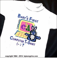 Baby's  Computer T-Shirts