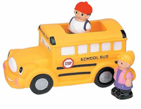 Bath Buddy Floating School Bus Toy