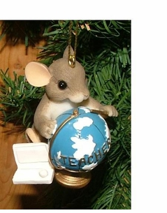 """Charming Tales"" Computer Mice Ornaments 2 Designs CLEARANCE!"