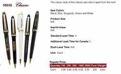 Classic Imprinted Pens at a Classic Price!