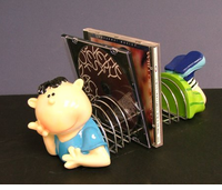 CLOSEOUT!! Collectible Cute Boy & Girl CD Holders 1/2 price!