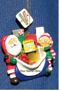 Colorful Bread Dough Style School Bus Ornament ON SALE