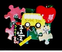 Colorful Puzzle Pin - $9.95