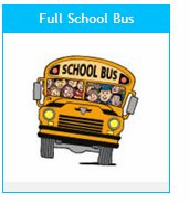 GET 1000 FREE Colorful School Bus TATTOOS!  As low as .08 ea.