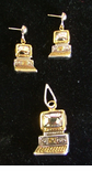 Computer Pin/Pendant Set