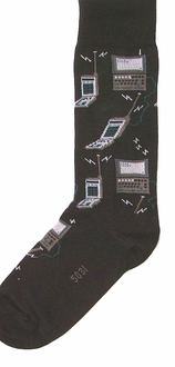 Computer Socks Value 2/Pak