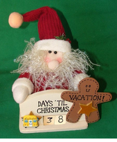 Count the days until Christmas VACATION - School Bus Count Down Calendar -ON SALE!